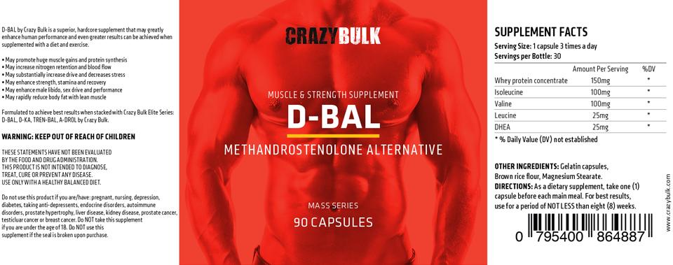 d-bal label