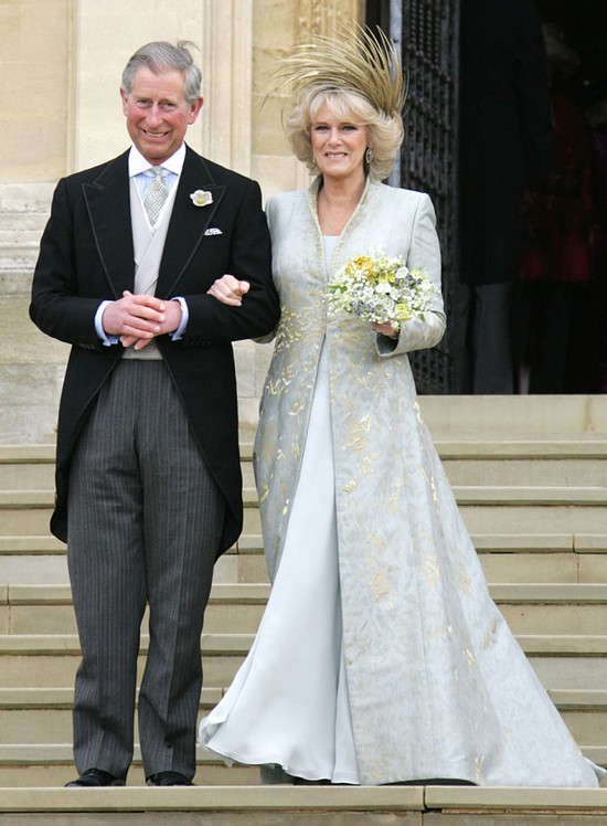 Camilla Parker Bowles's Wedding Dress