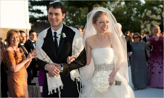Chelsea Clinton's Wedding Dress