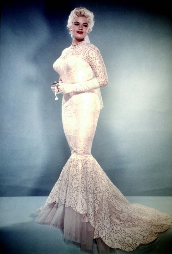 Jayne Mansfield's Wedding Dress