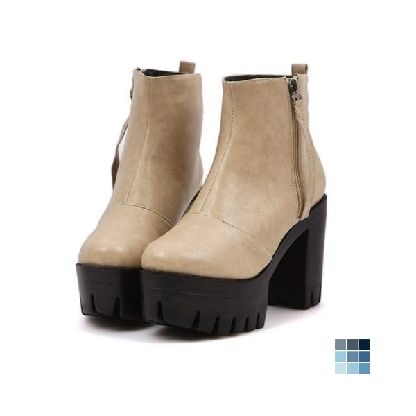 All-matching Platform Boots by OASAP