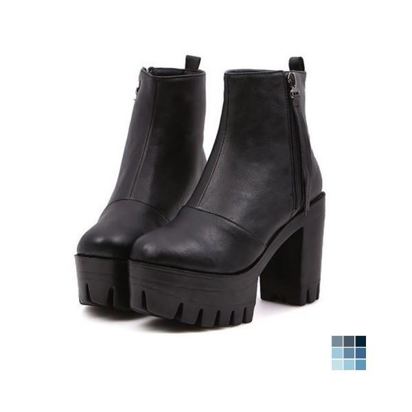 f06aa57b78a All-matching Platform Boots by OASAP
