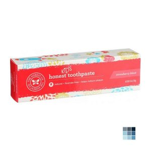 Honest Kids Toothpaste Strawberry Mint