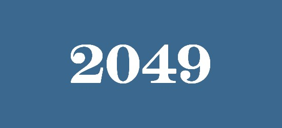 what will happen in 2049